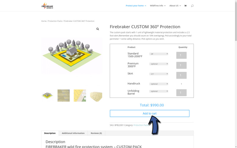 Step1 - Product Page AddToCart-800px